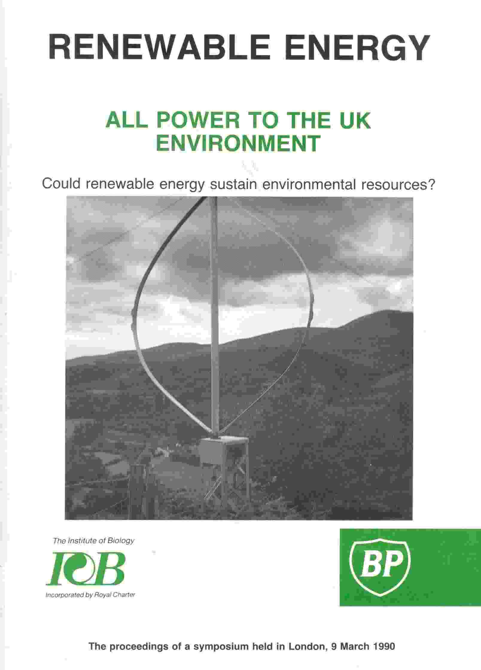 Renewable energy environmental impacts
